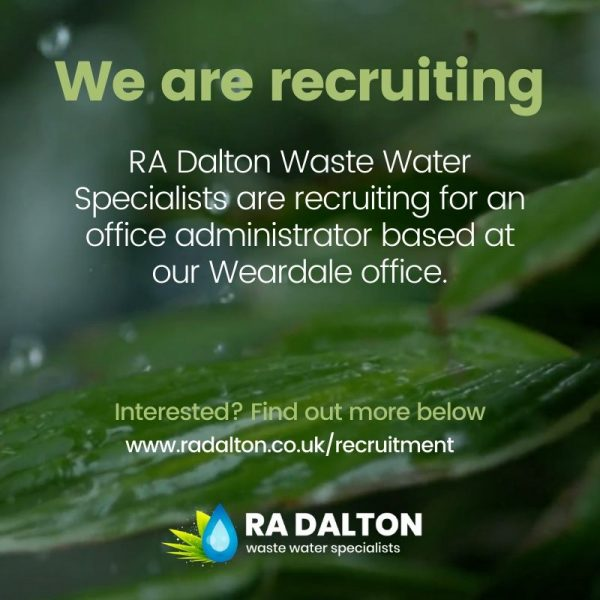 RA Dalton are recruiting for an office administrator