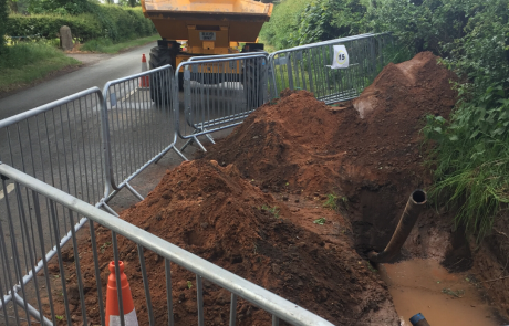 Connection to Mains sewer