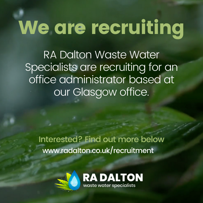 Office admin job Glasgow